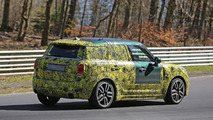 2017 Mini Countryman JCW spy photo
