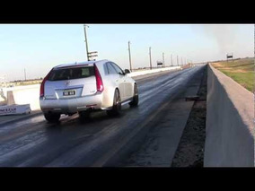 2011 CTS-V Wagon Runs 11.4 @ 127 mph on Michelin PS2 Street Tires
