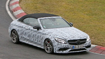 Mercedes-AMG C63 Convertible spied ahead of NY debut