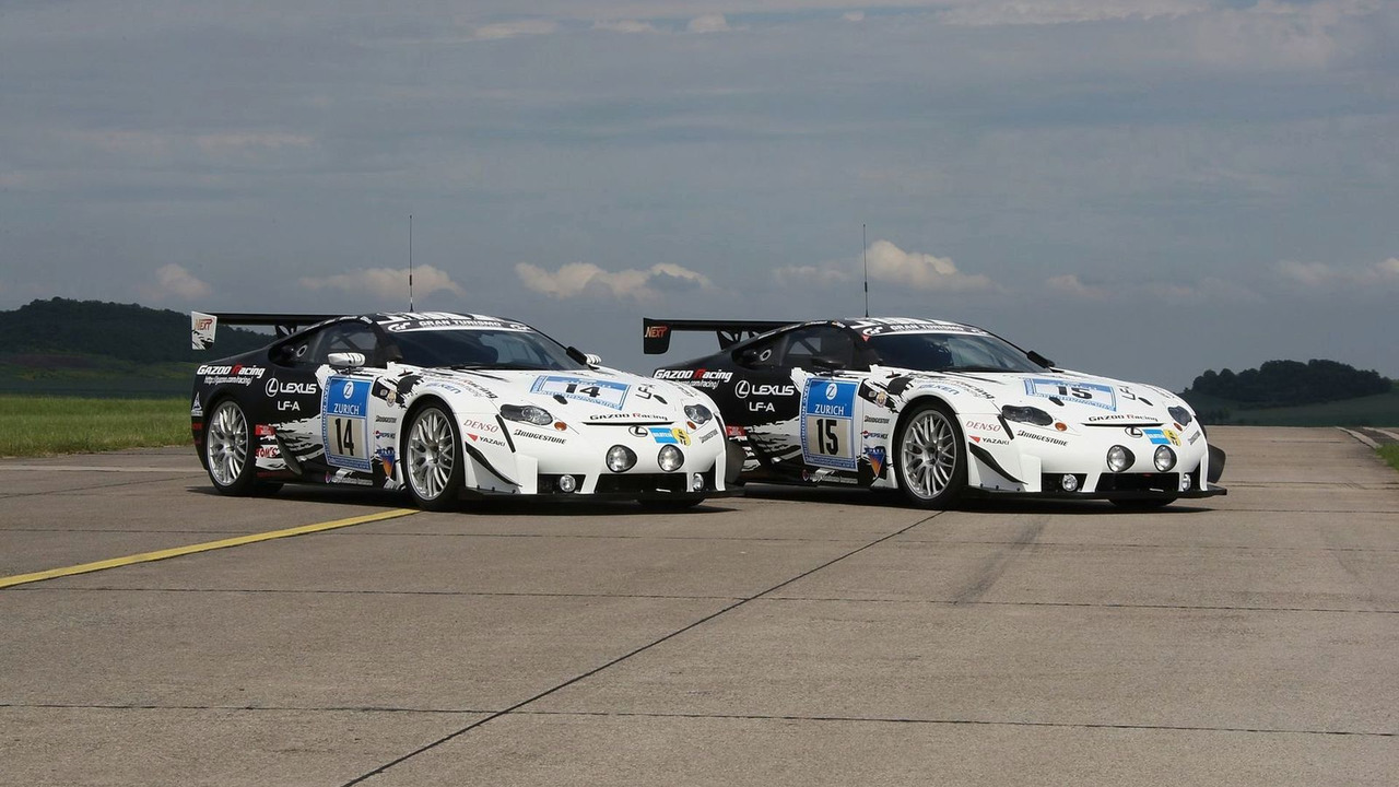 Lexus LF-A Race Car - 2009 24-hour Nurburgring Race