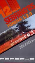 Sebring Poster 1985: Porsche 962