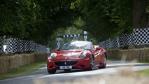 Ferrari Scuderia Spider 16M hillclimb at Goodwood FOS 2009 on video