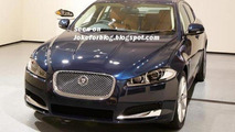 2012 Jaguar XF Facelift leaked