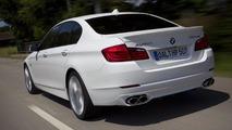 BMW Alpina B5 F10 Bi-Turbo photos break out early
