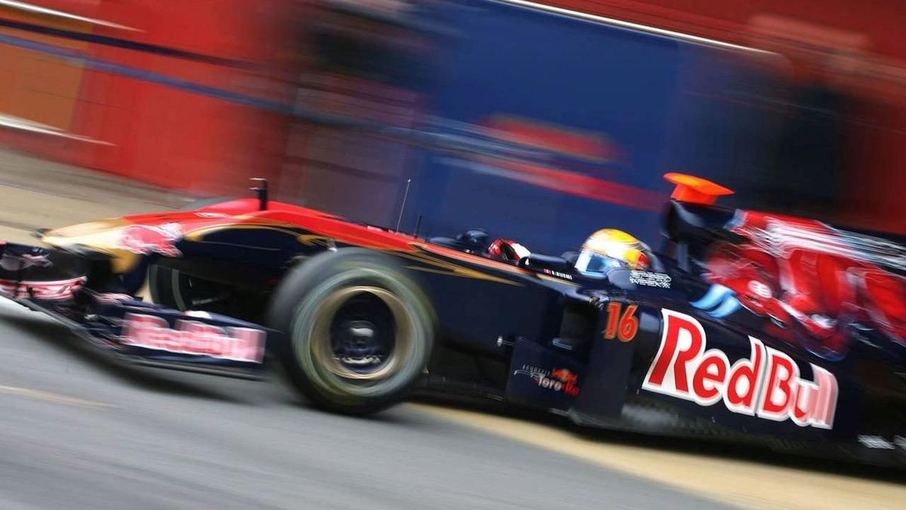 Sebastien Buemi (SUI), Scuderia Toro Rosso - Formula 1 Testing, Barcelona