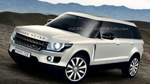 Rendered Speculation: Next Generation Range Rover