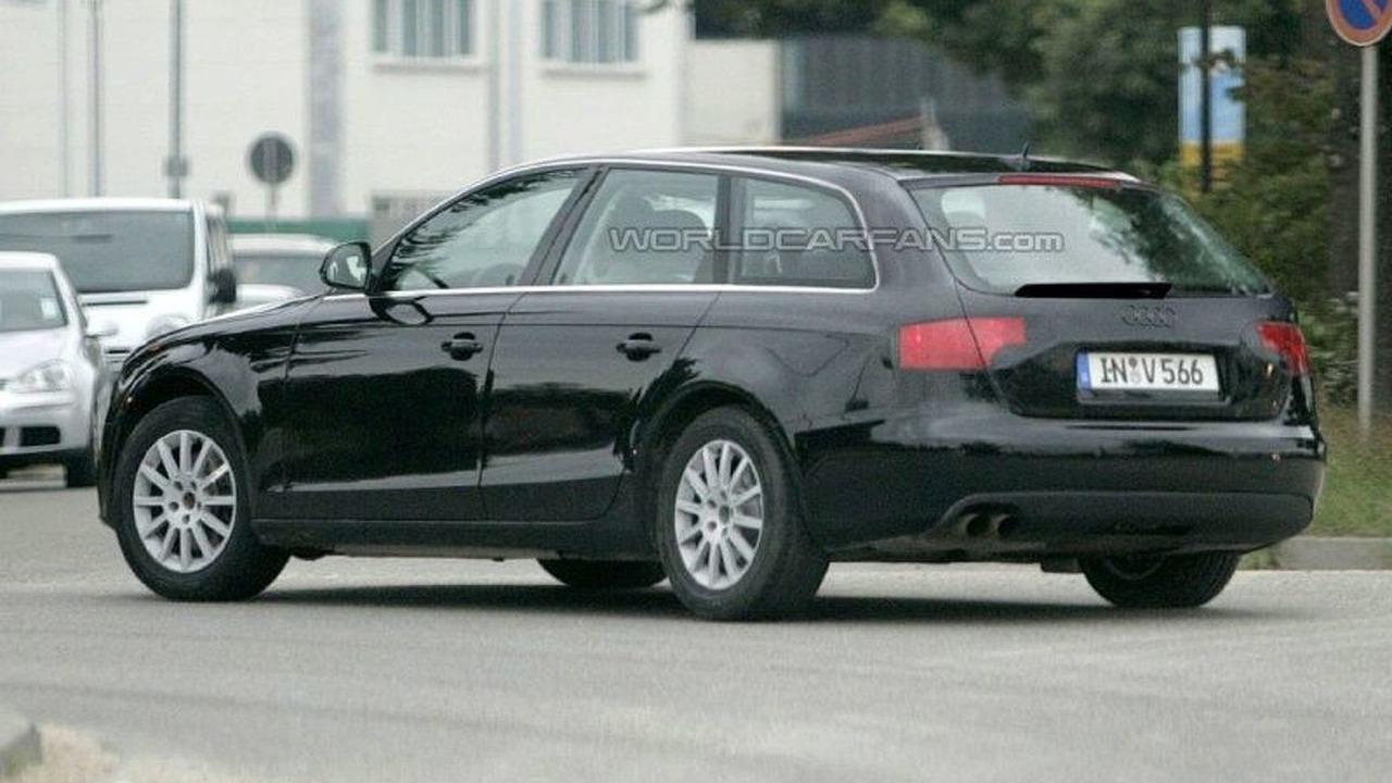 Audi A4 Avant First Spy Photos
