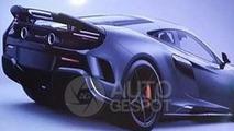 McLaren 675LT leaked