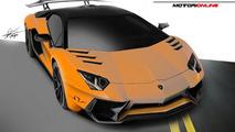 Lamborghini Aventador SV renderings show what to expect