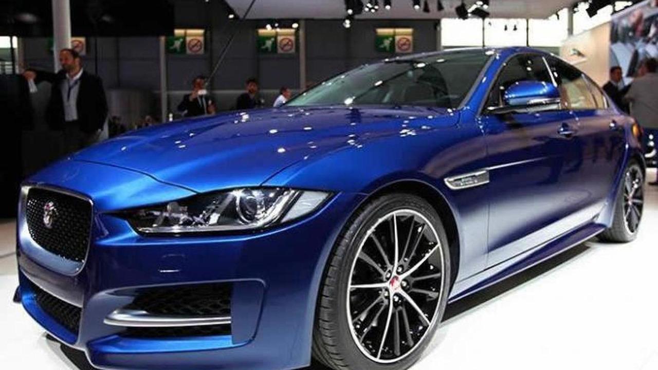 Jaguar XE at 2014 Paris Motor Show