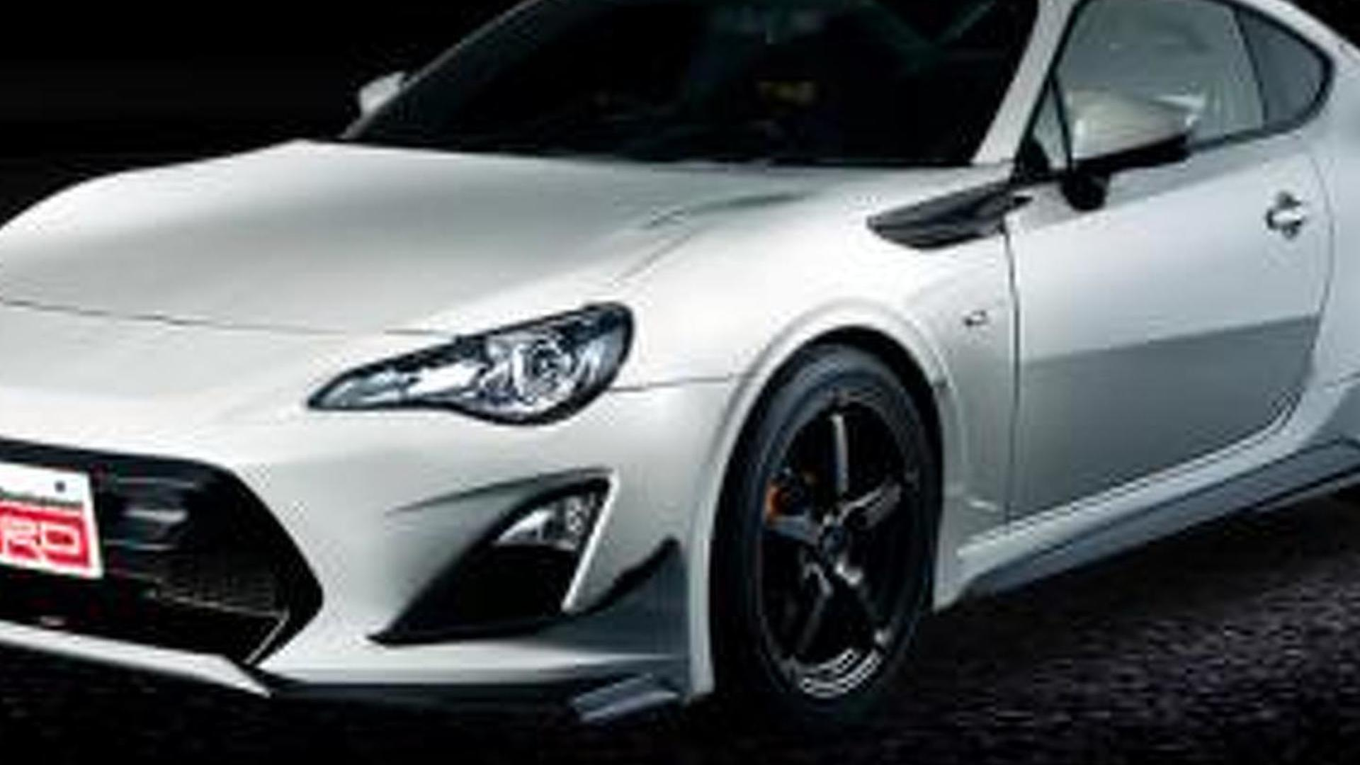 Toyota 86 14R60 unveiled in Japan