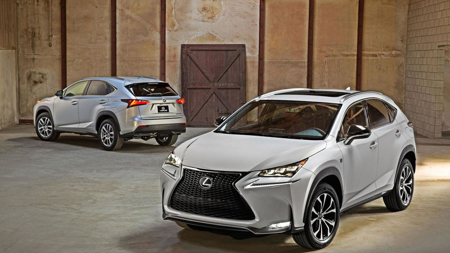 2015 Lexus NX 300h pricing announced (UK)
