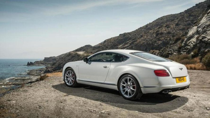Bentley Continental GT V8 S revealed with 521 bhp [videos added]