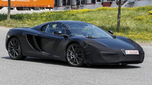 2014 McLaren MP4-12C facelift spied with minor changes