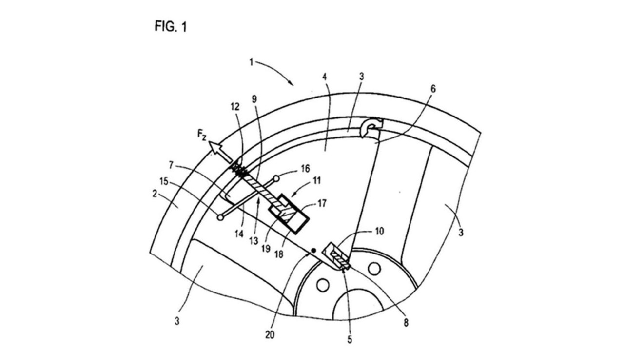Audi active shutter wheel patent application