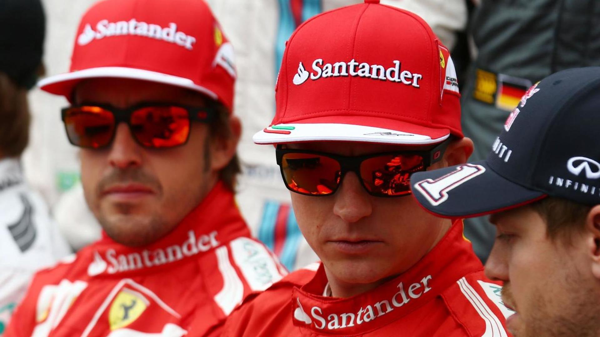 Alonso and Raikkonen are staying - Marchionne