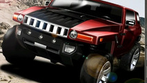 Hummer HX Concept for Detroit Debut