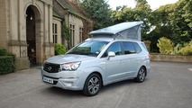 Ssangyong previews Turismo Tourist campervan