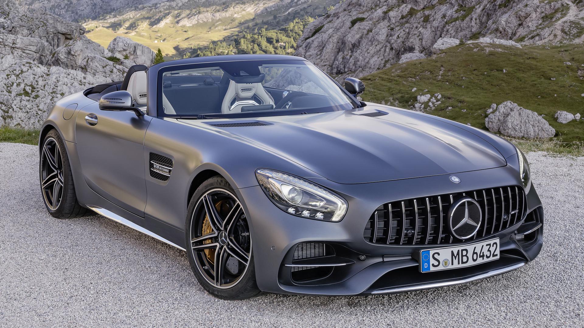 Mercedes-AMG GT Roadster revealed ahead of Paris debut