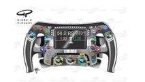 Rosberg's steering wheel