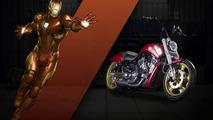 Harley-Davidsom Marvel Customs