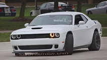Dodge Challenger ADR prototypes spied with wider tires