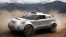 Range Rover Evoque headed to Dakar with BMW power