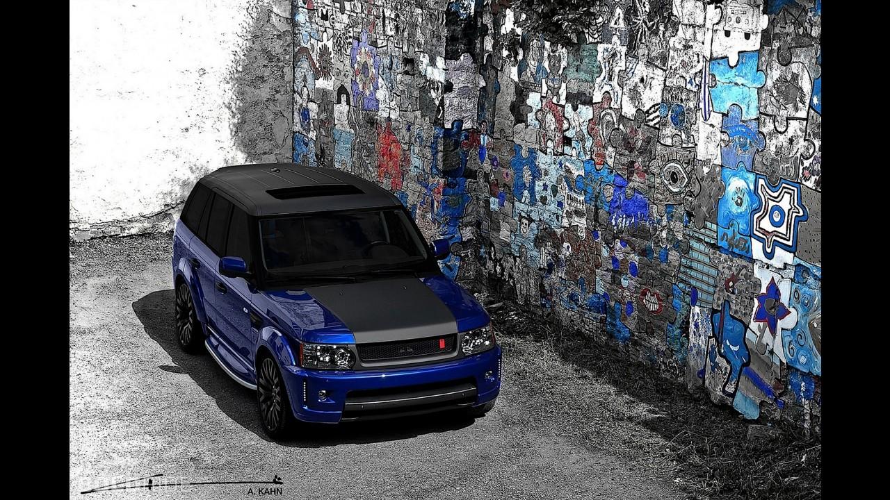 "A. Kahn Design Range Rover Sport Bali Blue ""Miyagi"" Edition"