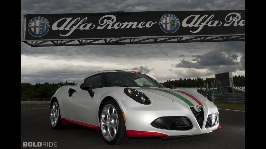 Alfa Romeo 4C Safety Car