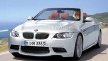 BMW M3 Coupe Cabrio artist interpretation