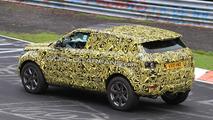Range Rover Evoque 5-door prototype hits Nurburgring