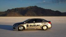 Suzuki Kizashi breaks 200 mph at Bonneville - sets land speed record