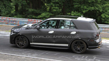 2012 Mercedes ML-Class AMG spy photos, Nurburgring Nordschleife, Germany, 17.08.2010