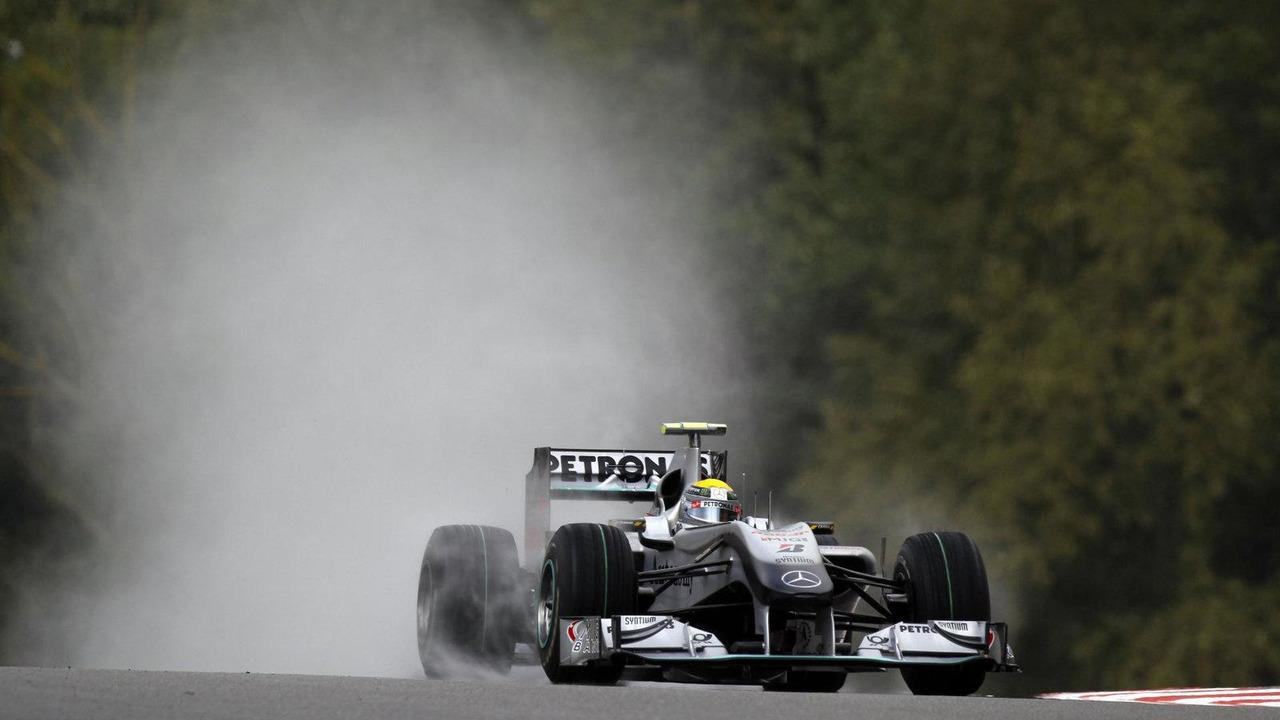 Nico Rosberg (GER), Mercedes GP Petronas - Formula 1 World Championship, Rd 13, Belgian Grand Prix, 27.08.2010 Spa, Belgium