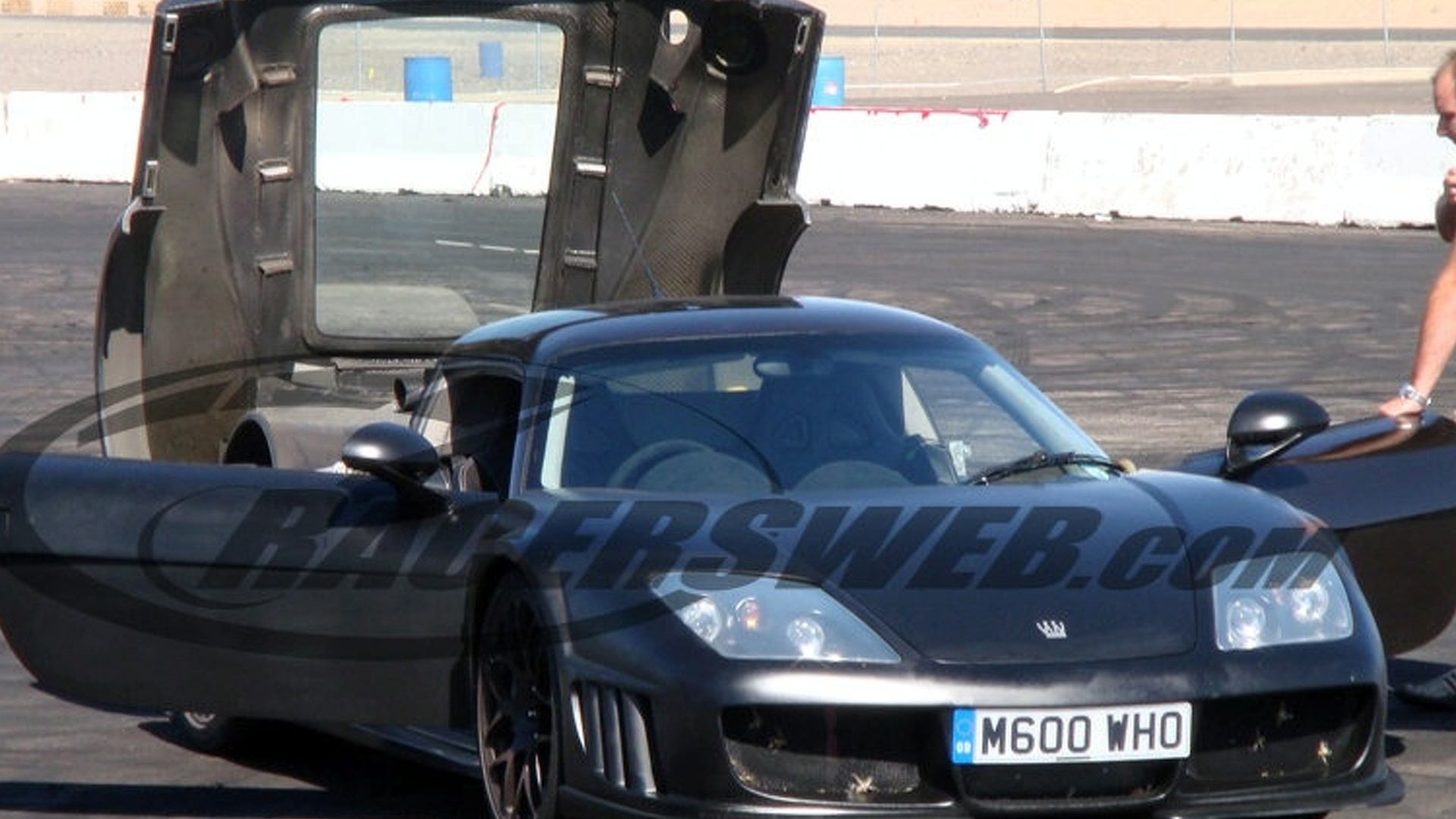 Noble M600 Spied Close Up On a Track