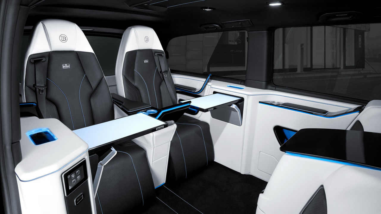 brabus mercedes v class is for mixing business with pleasure. Black Bedroom Furniture Sets. Home Design Ideas
