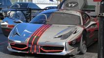 Chrome Ferrari 458 Challenge hits the racetrack