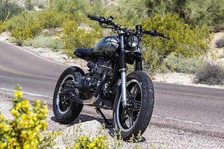 Droog Moto's Honda 'Strambler' is Part Scrambler, Part Street Tracker
