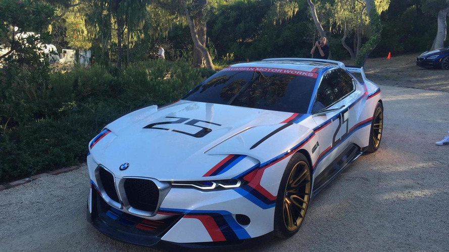 BMW M4 GTS and 3.0 CSL Hommage R concepts return in live shots
