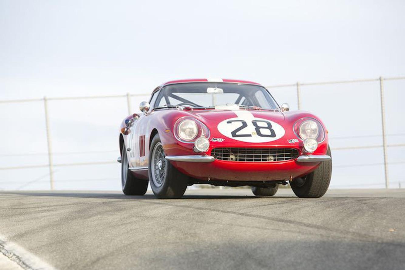 Le Mans Class-Winning Ferrari 275 GTB Competizione Up For Auction