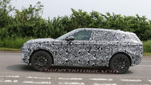 Range Rover Coupe spy photo