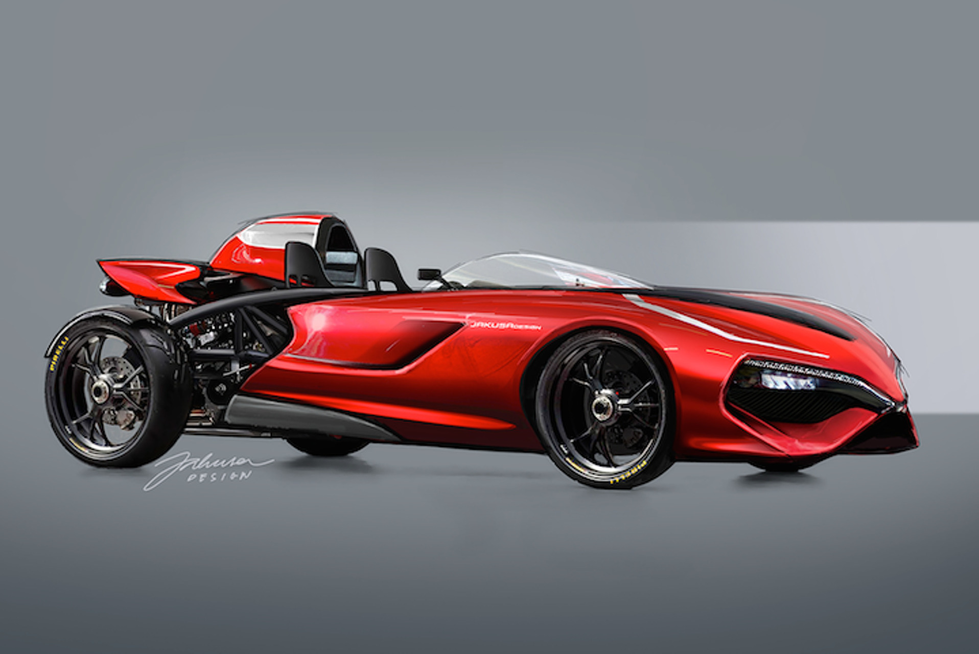 Ducati Powered Track Car Is Everything You Hoped It Would Be Photo