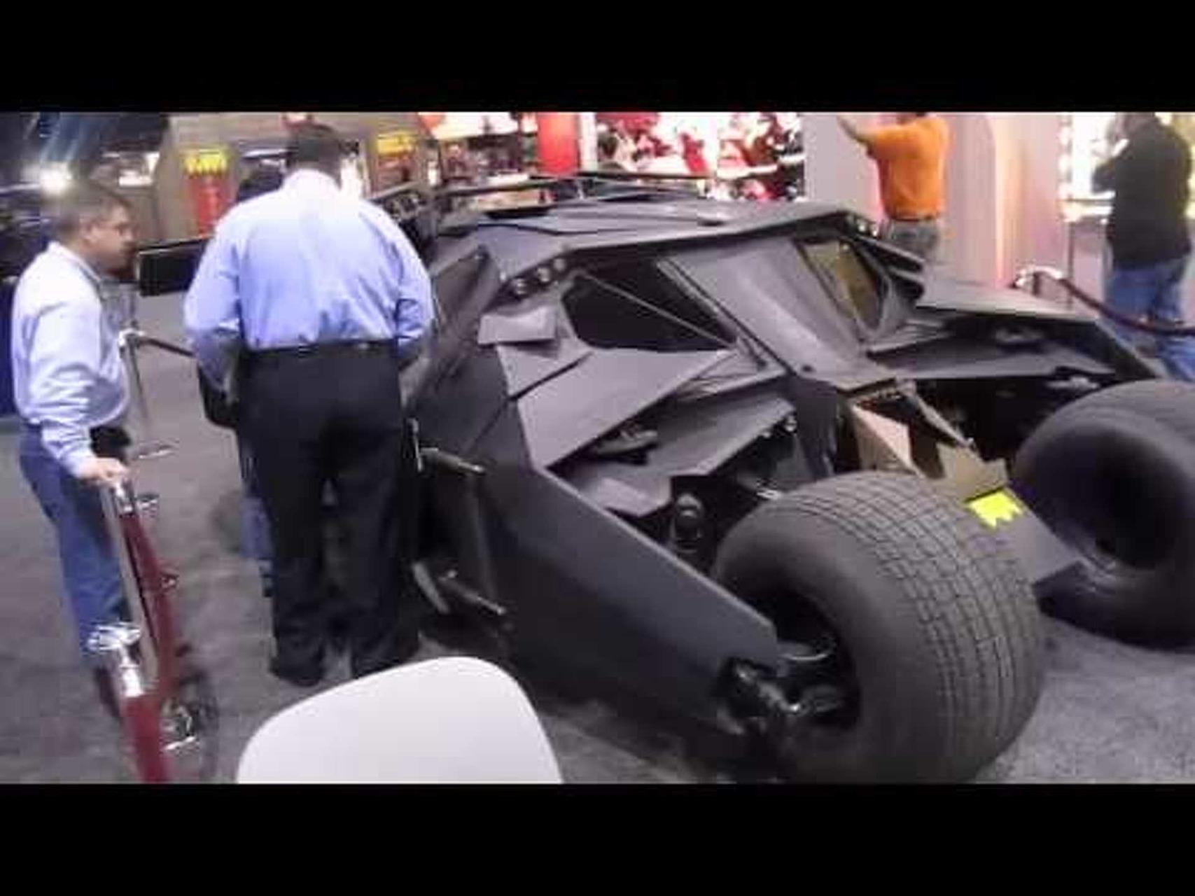 Batman The Dark Night Tumbler