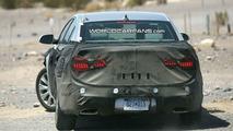 Kia VG Luxury Sedan Spied in Desert