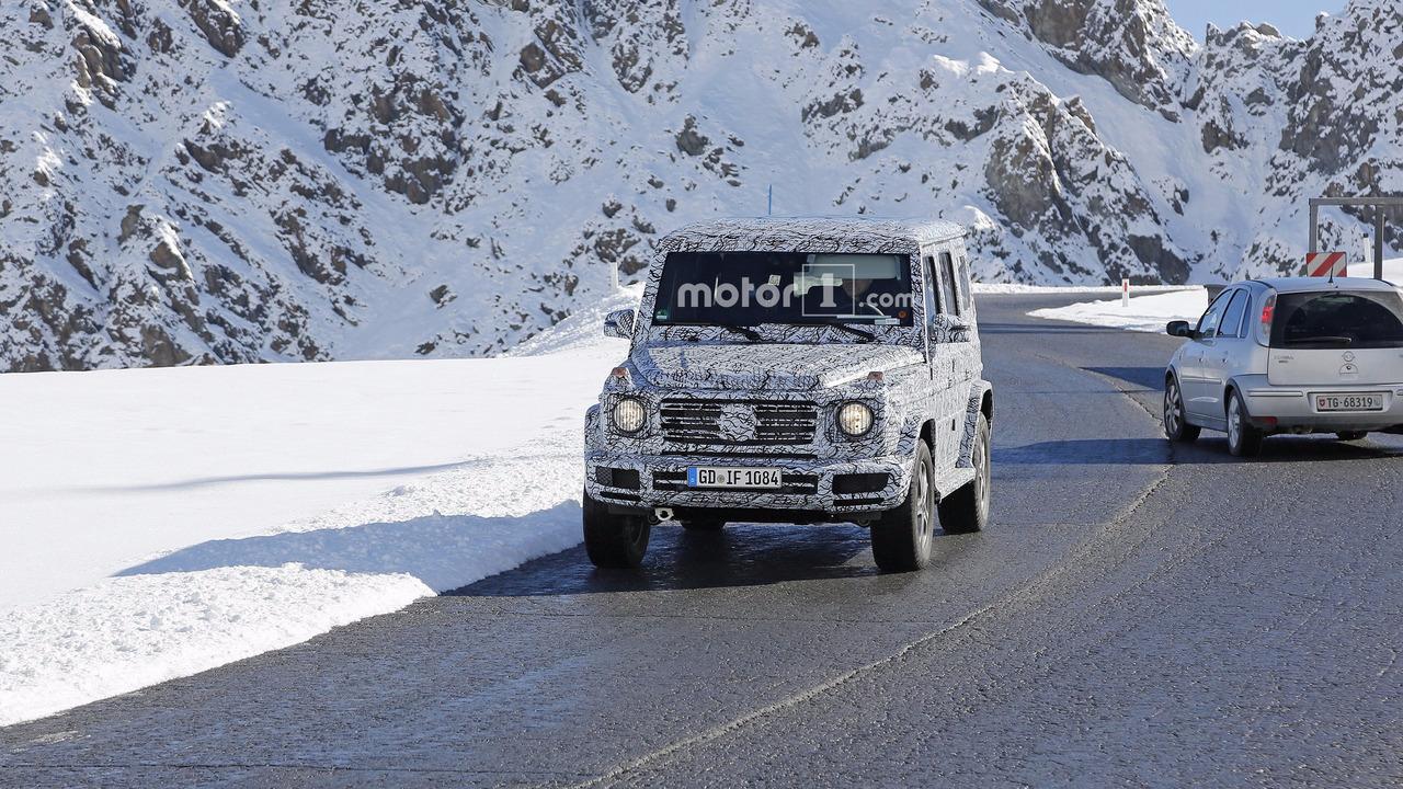 2018 Mercedes G Class Spy Shots Are Wallpaper Material
