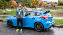 Canadian BMX Olympian sizes up the 2017 Ford Focus RS