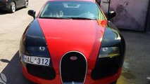 Audi A6-based Bugatti Veyron replica isn't fooling anyone