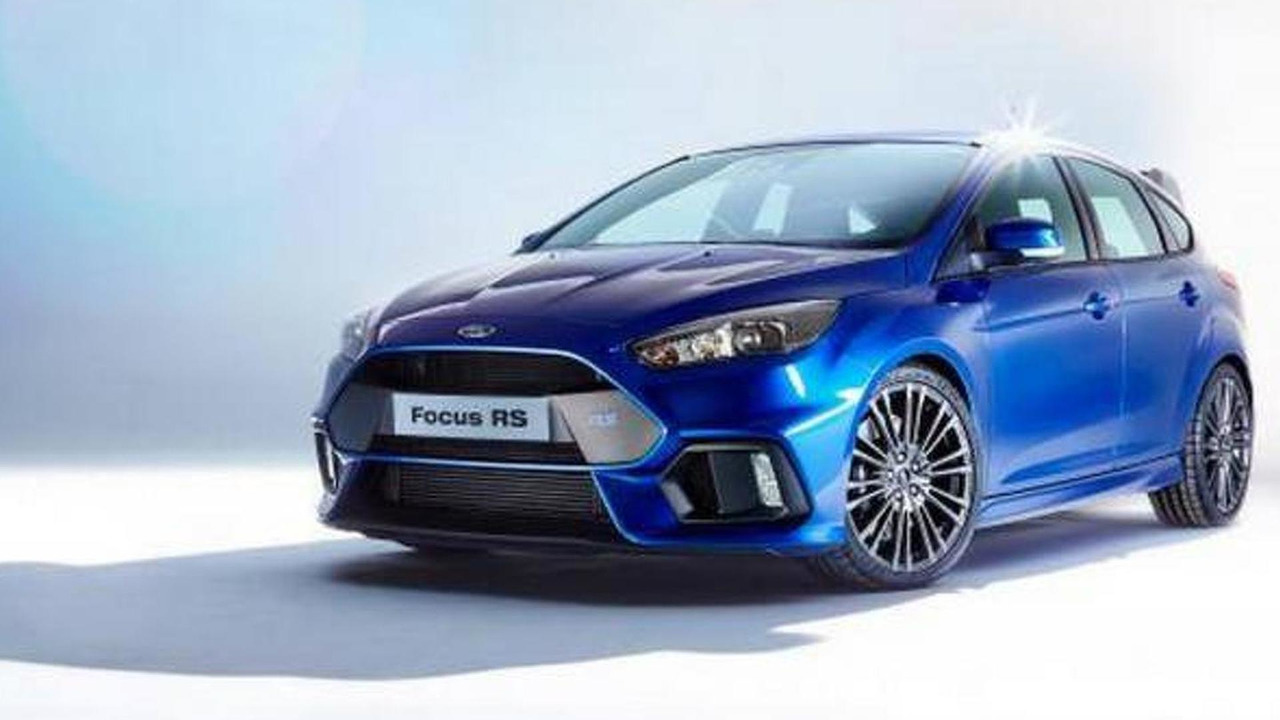 2016 Ford Focus RS leaked official photo