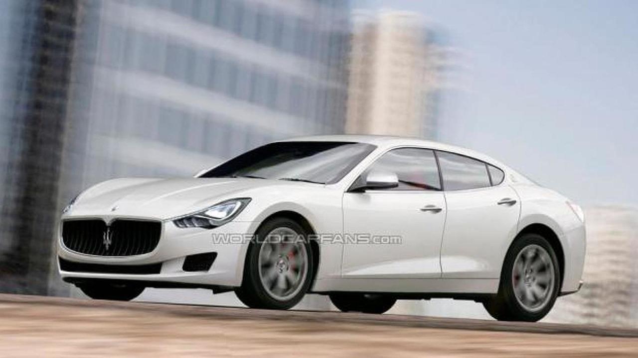 Maserati Ghibli speculative rendering, 1000, 15.11.2012