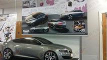 Qoros Volkswagen CC-like model